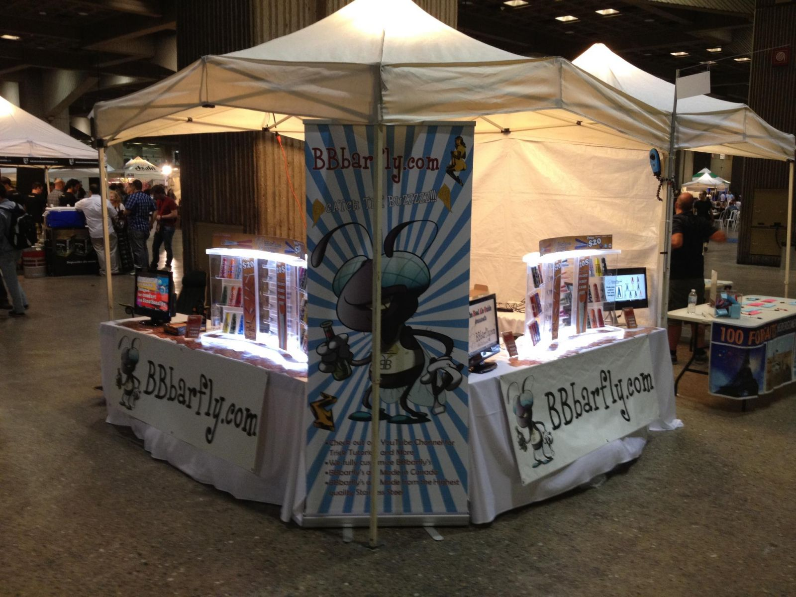 BBbarfly at Montreal Beer Festival